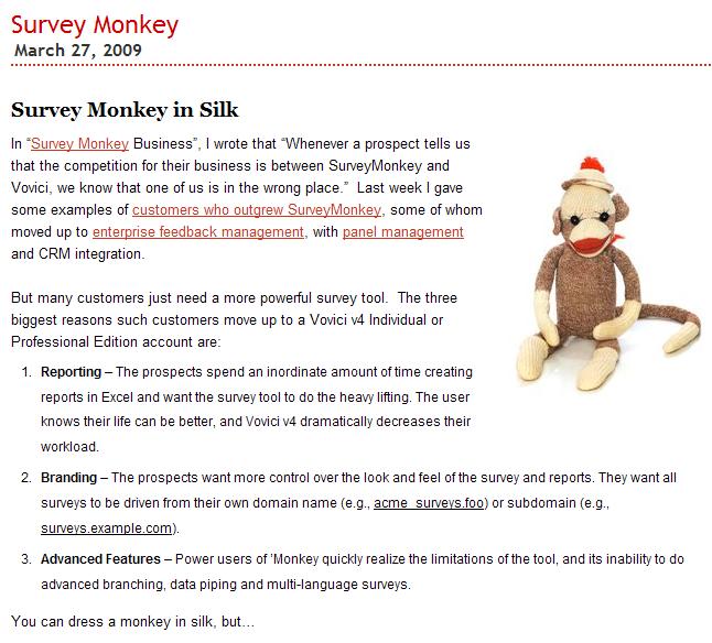 vovici surveymonkey war 1