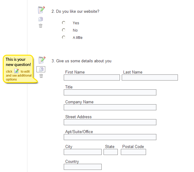surveygizmo survey questions editor