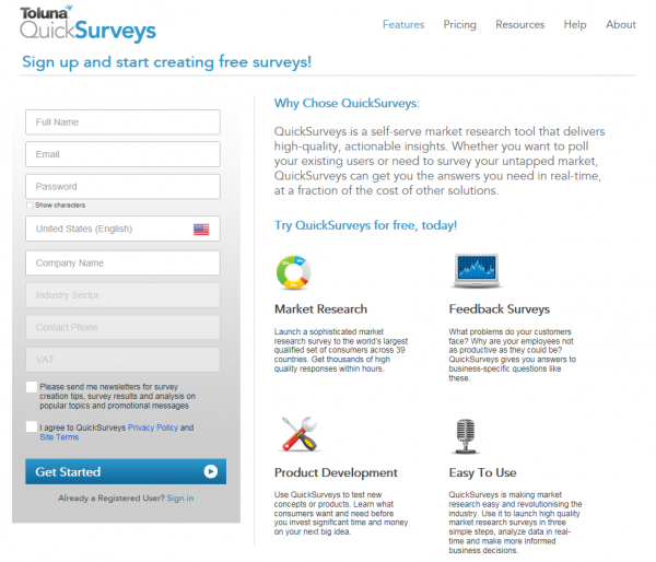 how to create and open end survey question html